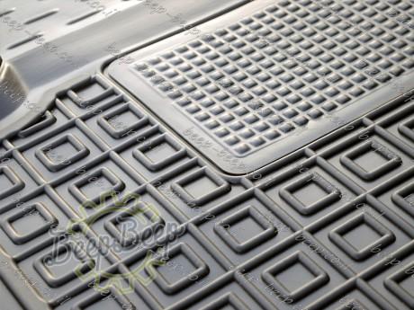 AV-G Fully Tailored Rubber / Set of 5 Car Floor Mats Carpet for CITROEN C1 II 2018—2020 - Picture 12