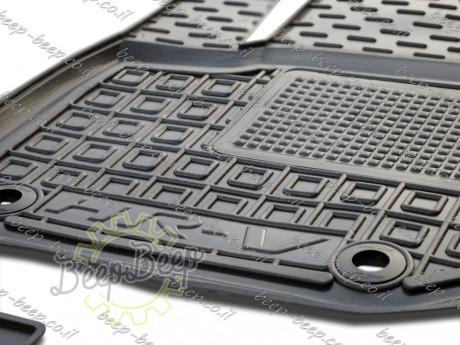AV-G Fully Tailored Rubber / Set of 5 Car Floor Mats Carpet for HONDA HR-V II 2015—2020 - Picture 2