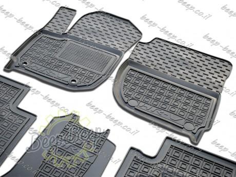 AV-G Fully Tailored Rubber / Set of 5 Car Floor Mats Carpet for HONDA HR-V II 2015—2020 - Picture 3