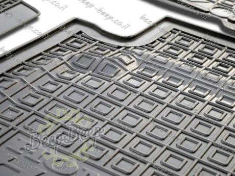 AV-G Fully Tailored Rubber / Set of 5 Car Floor Mats Carpet for HONDA HR-V II 2015—2020 - Picture 5