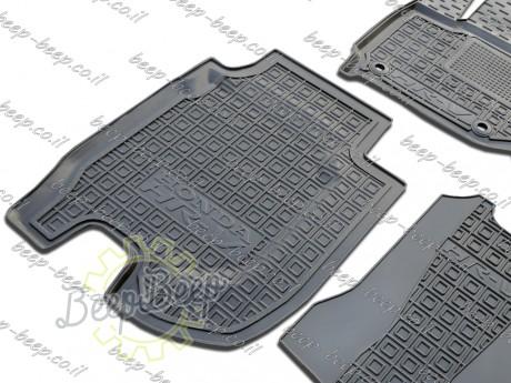 AV-G Fully Tailored Rubber / Set of 5 Car Floor Mats Carpet for HONDA HR-V II 2015—2020 - Picture 6