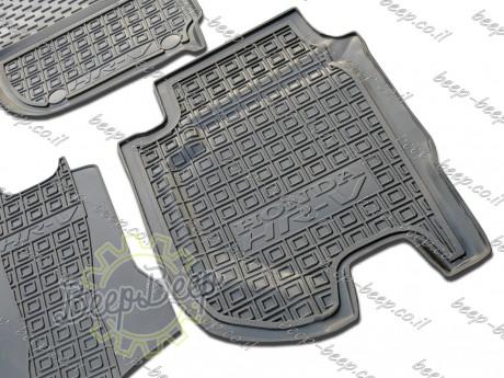 AV-G Fully Tailored Rubber / Set of 5 Car Floor Mats Carpet for HONDA HR-V II 2015—2020 - Picture 7