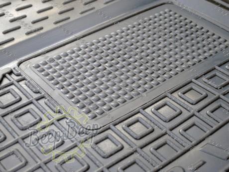 AV-G Fully Tailored Rubber / Set of 5 Car Floor Mats Carpet for HONDA HR-V II 2015—2020 - Picture 8