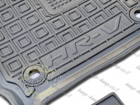 AV-G Fully Tailored Rubber / Set of 5 Car Floor Mats Carpet for HONDA HR-V II 2015—2020 - Picture 10