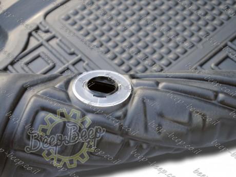 AV-G Fully Tailored Rubber / Set of 5 Car Floor Mats Carpet for HONDA HR-V II 2015—2020 - Picture 11