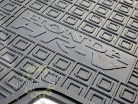 AV-G Fully Tailored Rubber / Set of 5 Car Floor Mats Carpet for HONDA HR-V II 2015—2020 - Picture 12