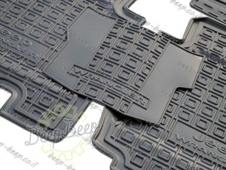 AV-G Car Floor Mats for JEEP WRANGLER UNLIMITED JL 2018—2020 Custom Fit All Weather Liners - Picture 6