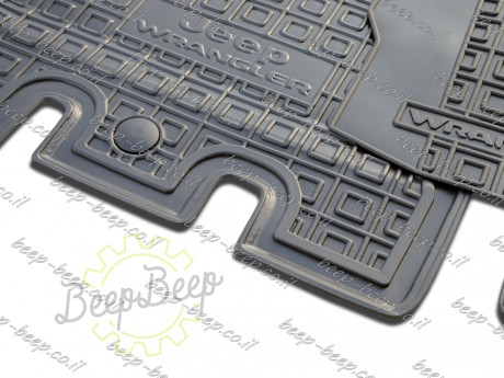 AV-G Car Floor Mats for JEEP WRANGLER UNLIMITED JL 2018—2020 Custom Fit All Weather Liners - Picture 10