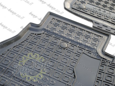 AV-G Car Floor Mats for JEEP WRANGLER UNLIMITED JL 2018—2020 Custom Fit All Weather Liners - Picture 11