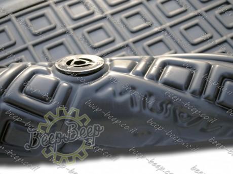 AV-G Fully Tailored Rubber / Set of 5 Car Floor Mats Carpet for JEEP WRANGLER UNLIMITED JL 2018—2020 - Picture 12