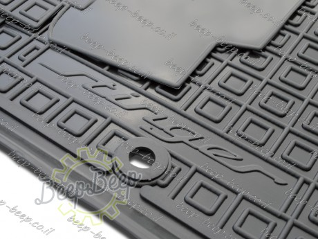 AV-G Car Floor Mats for KIA STINGER I 2018—2020 Custom Fit All Weather Liners - Picture 12