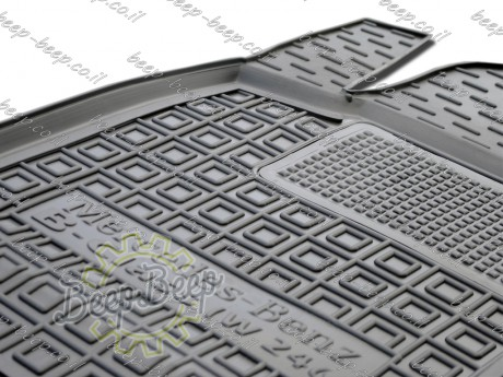 AV-G Fully Tailored Rubber / Set Car Floor Mats Carpet for MERCEDES B-CLASS, ELECTRIC DRIVE W246 2014—2018 - Picture 2