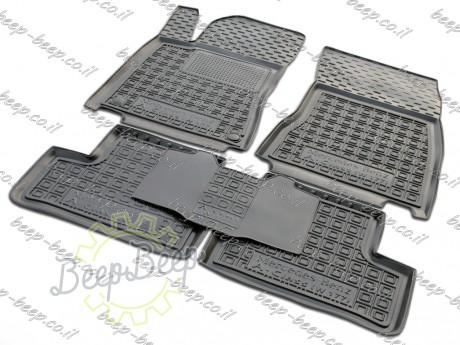 AV-G Fully Tailored Rubber / Set of 5 Car Floor Mats Carpet for MERCEDES A-CLASS W177 2019—2020 - Picture 1