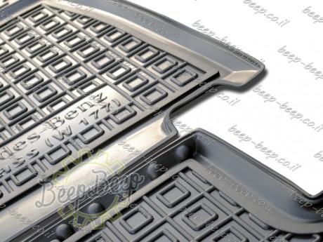 AV-G Fully Tailored Rubber / Set of 5 Car Floor Mats Carpet for MERCEDES A-CLASS W177 2019—2020 - Picture 2
