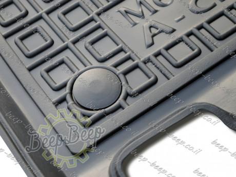 AV-G Fully Tailored Rubber / Set of 5 Car Floor Mats Carpet for MERCEDES A-CLASS W177 2019—2020 - Picture 4