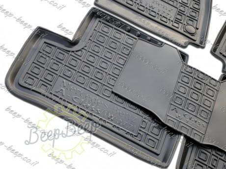 AV-G Fully Tailored Rubber / Set of 5 Car Floor Mats Carpet for MERCEDES A-CLASS W177 2019—2020 - Picture 5