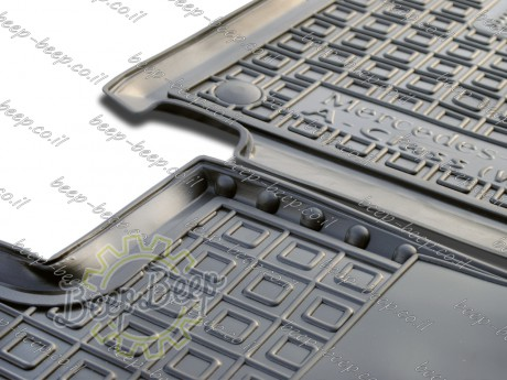 AV-G Fully Tailored Rubber / Set of 5 Car Floor Mats Carpet for MERCEDES A-CLASS W177 2019—2020 - Picture 8