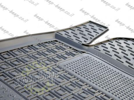 AV-G Fully Tailored Rubber / Set of 5 Car Floor Mats Carpet for MERCEDES A-CLASS W177 2019—2020 - Picture 10