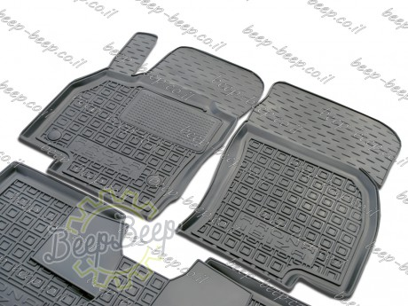 AV-G Fully Tailored Rubber / Set of 5 Car Floor Mats Carpet for SEAT IBIZA V 2017—2020 - Picture 3