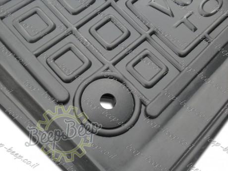 AV-G Fully Tailored Rubber / Set of 5 Car Floor Mats Carpet for VOLKSWAGEN TOUAREG III 2018—2020 - Picture 8