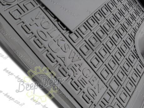AV-G Fully Tailored Rubber / Set of 5 Car Floor Mats Carpet for VOLKSWAGEN TOUAREG III 2018—2020 - Picture 11