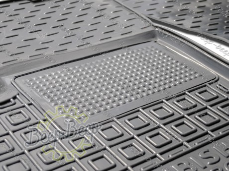 AV-G Fully Tailored Rubber / Set of 5 Car Floor Mats Carpet for MITSUBISHI ECLIPSE CROSS 2017—2020 - Picture 9