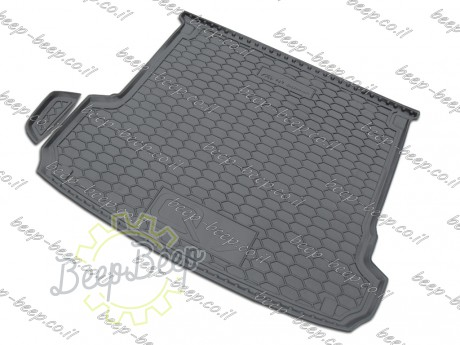 AV-G Fully Tailored Rubber / Cargo Mat Tray Trunk Boot Liner for AUDI Q7 II 2015—2020 - Picture 2