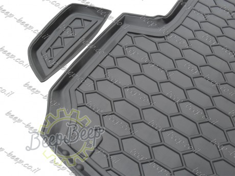 AV-G Fully Tailored Rubber / Cargo Mat Tray Trunk Boot Liner for AUDI Q7 II 2015—2020 - Picture 3