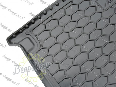 AV-G Fully Tailored Rubber / Cargo Mat Tray Trunk Boot Liner for AUDI Q7 II 2015—2020 - Picture 5