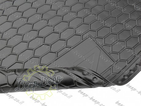 AV-G Fully Tailored Rubber / Cargo Mat Tray Trunk Boot Liner for AUDI Q7 II 2015—2020 - Picture 8