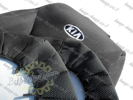EMC-El Set front + rear of fully tailored seat covers for KIA SPORTAGE IV 2018—2020 - Picture 3