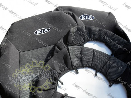 EMC-El Set front + rear of fully tailored seat covers for KIA SPORTAGE IV 2018—2020 - Picture 8
