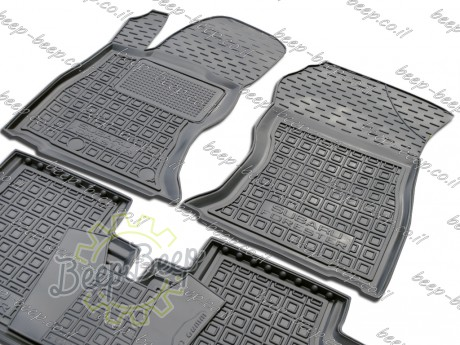 AV-G Car Floor Mats for SUBARU FORESTER V 2019—2020 Custom Fit All Weather Liners - Picture 3
