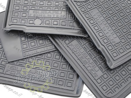 AV-G Car Floor Mats for SUBARU FORESTER V 2019—2020 Custom Fit All Weather Liners - Picture 8