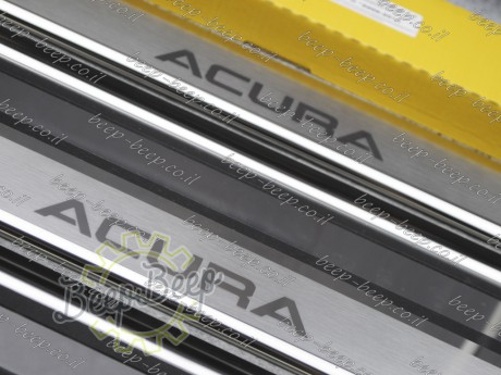 N.Niko Door sill lining / Chrome cover / Scuff plate for ACURA MDX (YD2) 2006—2013 - Picture 8