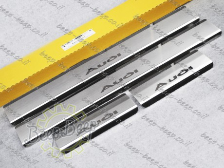 N.Niko Door sill lining / Chrome cover / Scuff plate for AUDI Q2 I 2016—2020 - Picture 2