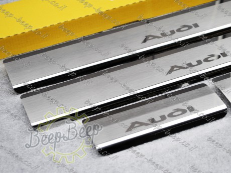 N.Niko Door sill lining / Chrome cover / Scuff plate for AUDI Q2 I 2016—2020 - Picture 3