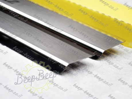 N.Niko Door sill lining / Chrome cover / Scuff plate for MERCEDES A-CLASS W177 2019—2020 - Picture 7