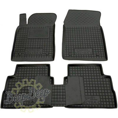 AV-G Car Floor Mats for OPEL VECTRA C 2003—2008 Custom Fit All Weather Liners - Picture 1