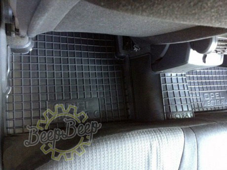 AV-G Car Floor Mats for OPEL VECTRA C 2003—2008 Custom Fit All Weather Liners - Picture 4