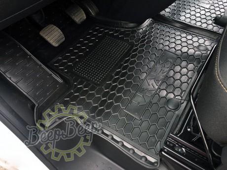 AV-G Car Floor Mats for OPEL VIVARO II 2015—2019 Custom Fit All Weather Liners - Picture 2