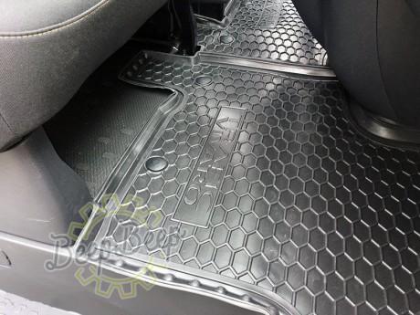 AV-G Car Floor Mats for OPEL VIVARO II 2015—2019 Custom Fit All Weather Liners - Picture 3