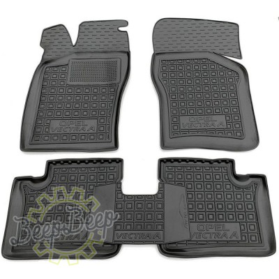AV-G Car Floor Mats for OPEL VECTRA A 1988—1995 Custom Fit All Weather Liners - Picture 1