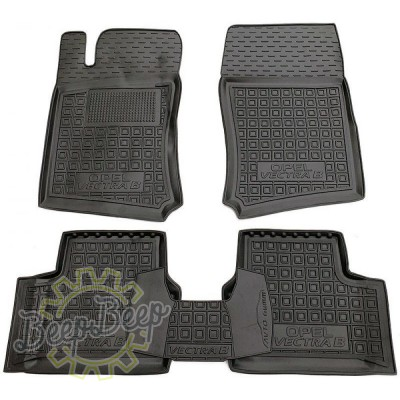 AV-G Car Floor Mats for OPEL VECTRA B 1996—2002 Custom Fit All Weather Liners - Picture 1
