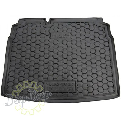 AV-G Cargo Trunk Mat for VOLKSWAGEN GOLF 6 HATCHBACK 2008—2012 Custom Fit Tray Boot Liner - Picture 1