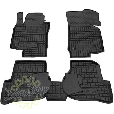 AV-G Car Floor Mats for VOLKSWAGEN GOLF 5 2003—2007 Custom Fit All Weather Liners - Picture 1