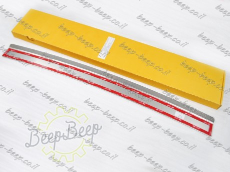 N.Niko Rear Bumper Lining / Chrome Cover Protector for HYUNDAI IONIQ 2016—2020 - Picture 7