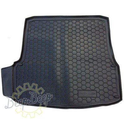 AV-G Cargo Trunk Mat for SKODA OCTAVIA II LIFTBACK 2005—2012 Custom Fit Tray Boot Liner - Picture 1