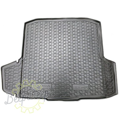 AV-G Cargo Trunk Mat for SKODA OCTAVIA III WAGON (WITHOUT AMPLIFIER BOX) 2013—2019 Custom Fit Tray Boot Liner - Picture 1